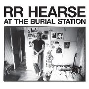 HEARSE, R.R. - (BLACK) AT THE BURIAL STATION