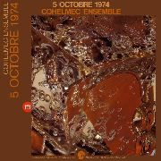COHELMEC ENSEMBLE - 5 OCTOBRE 1974 (2LP)