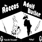 ADOLF BUTLER/ROCCOS - SPLIT LP