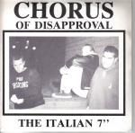 CHORUS OF DISAPPROVAL - THE ITALIAN EP