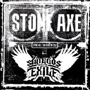 "STONE AXE/SUN GODS IN EXILE - SPLIT 7"" (WHITE)"