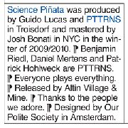 PTTRNS - SCIENCE PINATA
