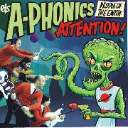 A-PHONICS - PEOPLE OF THE EARTH: ATTENTION (+CD