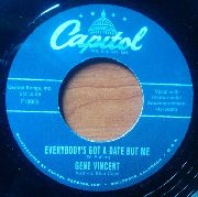 VINCENT, GENE/WANDA JACKSON - EVERYBODY'S GOT A DATE BUT ME/FALLI