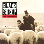 BLACK SHEEP - (WHITE) A WOLF IN SHEEP'S CLOTHING