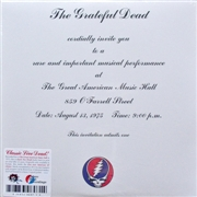 GRATEFUL DEAD - ONE FROM THE VAULT (3LP)