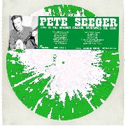 SEEGER, PETE - LIVE AT THE BOWDOIN COLLEGE, BRUNSWICK, ME. 1960