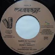 BRISSETT, BUNNY/ROCKERS INTERNATIONAL BAND - BABYLON FALLING/VERSION