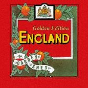 ENGLAND - (BLACK) GARDEN SHED (GOLDEN EDITION) (2LP)