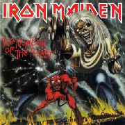 IRON MAIDEN - THE NUMBER OF THE BEAST (180GR)