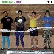TRASH BAG/SIKES - SPLIT EP
