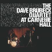 BRUBECK, DAVE -QUARTET- - AT CARNEGIE HALL (2LP)