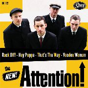 KING D & THE ROYALS OF RHYTHM/THE NEW! ATTENTION! - SPLIT 10""
