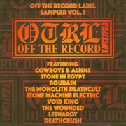 VARIOUS - OFF THE RECORD LABEL SAMPLER, VOL. 1