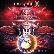 VOLKOR X - THIS MEANS WAR (RED/YELLOW/BLACK)