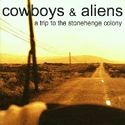 COWBOYS & ALIENS - (BLACK) A TRIP TO THE STONEHENGE COLONY