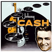 CASH, JOHNNY - WITH HIS HOT AND BLUE GUITAR (IT)