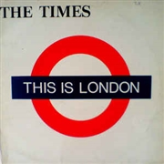 TIMES - THIS IS LONDON (+CD)