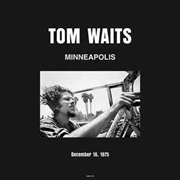 WAITS, TOM - MINNEAPOLIS 1975 (2LP)