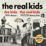 REAL KIDS/THE KIDS - 1974 DEMOS/1977/78 DEMOS/LIVE (+BOOK)