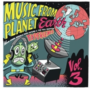 "VARIOUS - MUSIC FROM PLANET EARTH, VOL. 3 (10"")"