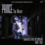 PRINCE - THE ARTIST: GREATEST HITS IN CONCERT (6CD) (CD