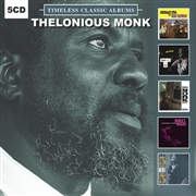 MONK, THELONIOUS - TIMELESS CLASSIC ALBUMS (5CD)