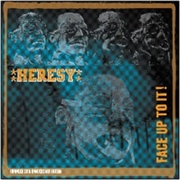 HERESY - FACE UP TO IT! (2LP)