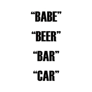 DUAL ACTION - BABE BEER BAR CAR (2LP)