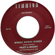 PRATT & MOODY - WORDS WORDS WORDS