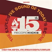 VARIOUS - RECORD KICKS 15TH (2LP)