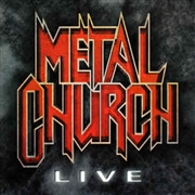 METAL CHURCH - LIVE (BLACK)