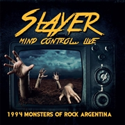 SLAYER - (RED) MIND CONTROL LIVE-1994 MONSTERS OF ROCK...