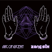 ARC OF ASCENT/ZONE SIX - SPLIT LP (BLACK)