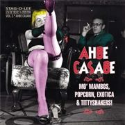 "VARIOUS - AHBE CASABE (EXOTIC BLUES & RHYTHM, VOL. 2) (10"")"