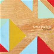 MINUS THE BEAR - FAIR ENOUGH (GREEN)