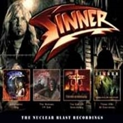 SINNER - THE NUCLEAR BLAST RECORDINGS (4CD)