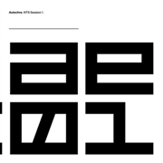 AUTECHRE - NTS SESSION 1 (3LP)