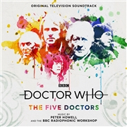 HOWELL, PETER - DOCTOR WHO: THE FIVE DOCTORS O.S.T. (2LP)