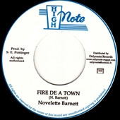 BARNETT, NOVELETTE - FIRE THE A TOWN/VERSION
