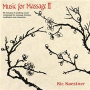 KAESTNER, RIC - (BLACK) MUSIC FOR MASSAGE II (2LP)