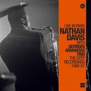 DAVIS, NATHAN -& GEORGES ARVANITAS TRIO- - LIVE IN PARIS (3LP)