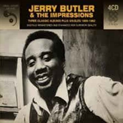BUTLER, JERRY -& THE IMPRESSIONS- - THREE CLASSIC ALBUMS PLUS SINGLES 1958-62 (4CD)