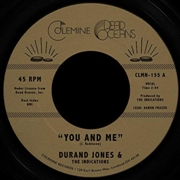 JONES, DURAND -& THE INDICATIONS- - YOU AND ME/PUT A SMILE ON YOUR FACE