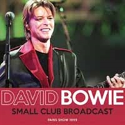BOWIE, DAVID - SMALL CLUB BROADCAST