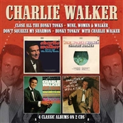 WALKER, CHARLIE - 4 CLASSIC ALBUMS ON 2 CDS