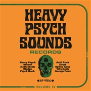 VARIOUS - HEAVY PSYCH SOUNDS RECORDS SAMPLER IV