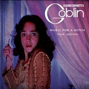 SIMONETTI, CLAUDIO -'S GOBLIN- - MUSIC FOR A WITCH