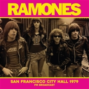 RAMONES - SAN FRANCISCO CITY HALL 1979 FM BROADCAST