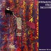 "SCREAMING DEAD BALLOONS - BANANA BLUE (10"")"
